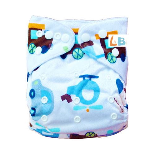 LBB(TM) Baby Resuable Washable Pocket Cloth Diaper,Airplane