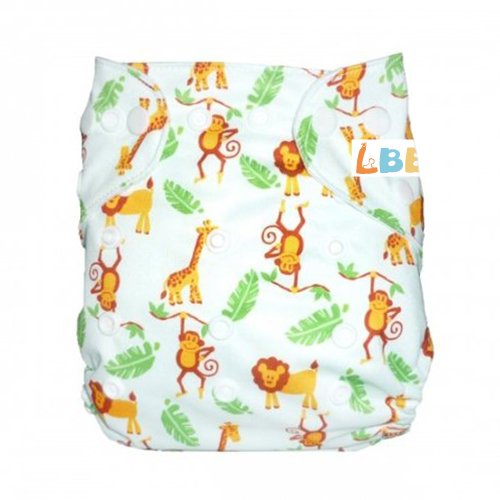 LBB(TM) Baby Resuable Washable Pocket Cloth Diaper,Animals