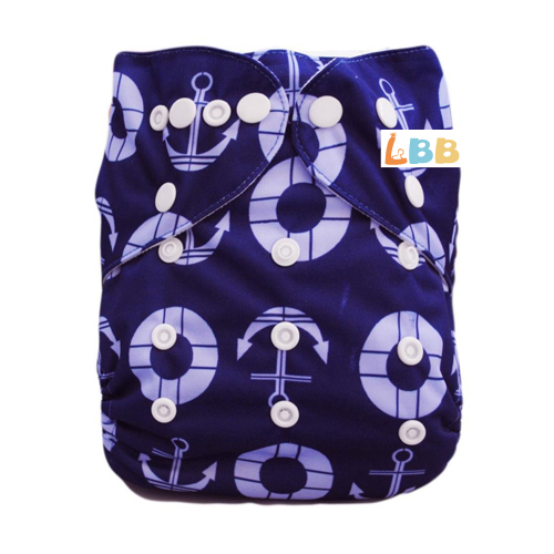LBB(TM) Baby Resuable Washable Pocket Cloth Diaper, Arrows