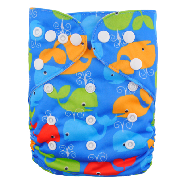 LBB(TM) Baby Resuable Washable Pocket Cloth Diaper,Sharks
