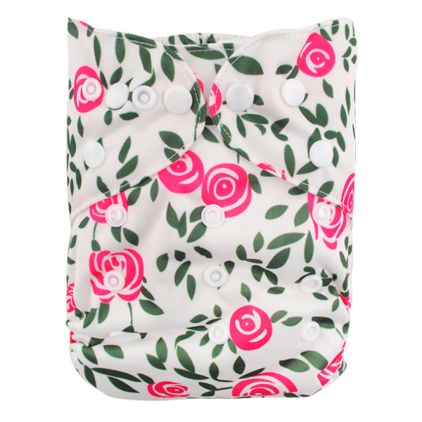 LBB(TM) Baby Resuable Washable Pocket Cloth Diaper,Rose